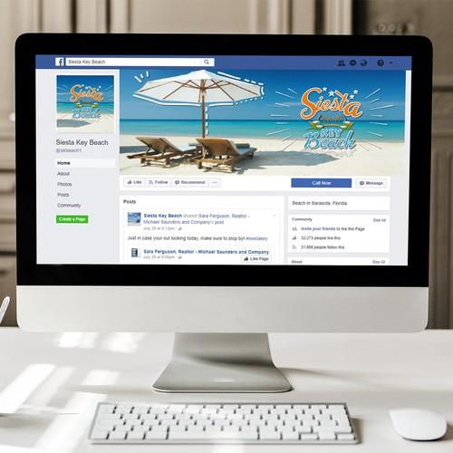 Facebook Cover for Beach