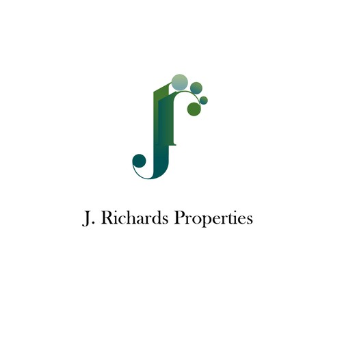 Modern estate agent logo