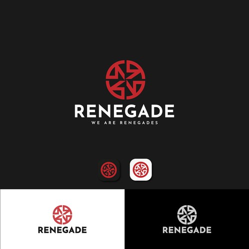 Strong logo for Renegade
