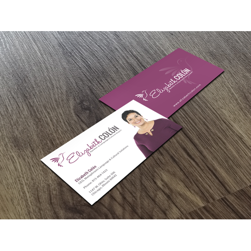 Elizabeth Colon logo&business card