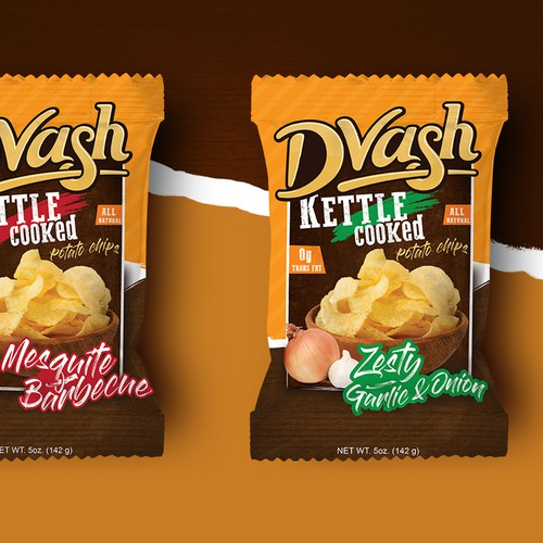 Dvash kettle cooked potato chips