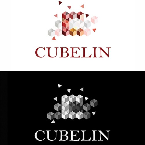 Create a vivid, original and inspiring Logo for Cubelin - seating cubes made of vintage tapestry