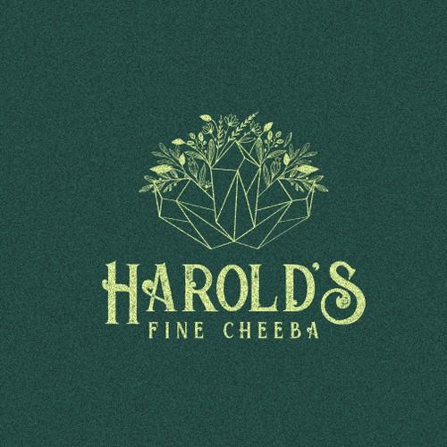 Harold's Fine Cheeba - Exclusive High End Marijuana Dispensary Logo