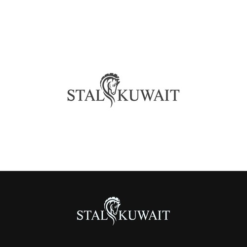 Logo for horse stables