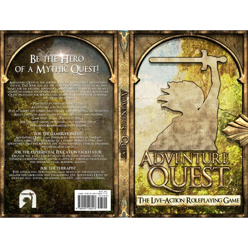 Book Cover for Adventure Quest, the Live-Action Roleplaying Game