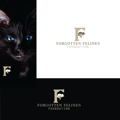 Logo for felines foundation