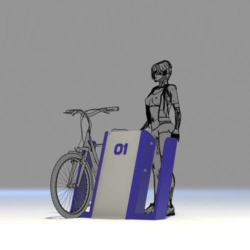 Bicycles parking and storage