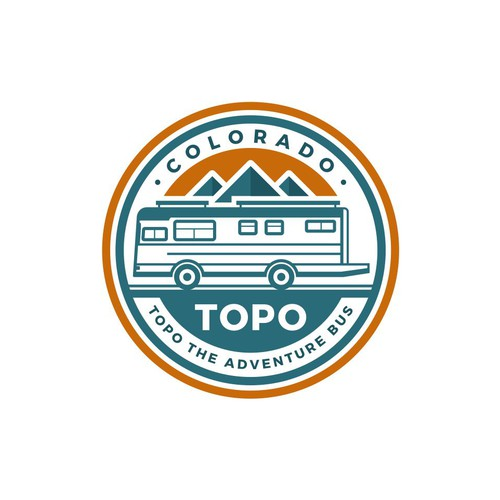 Topo the Adventure bus needs a logo!