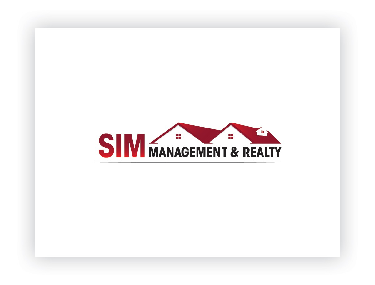 Create the next logo for Sim Management & Realty