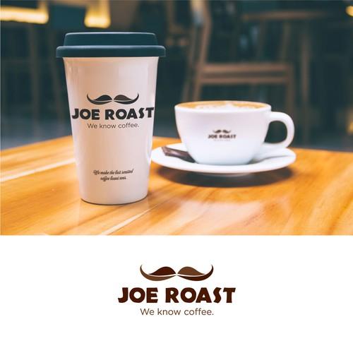 bold logo idea for Joe Roast.