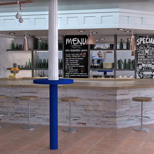 Greek restaurant design