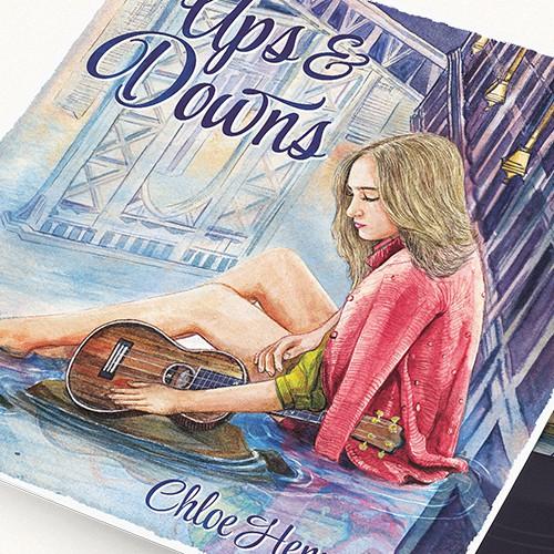 Wonderful Album cover for a teen singer