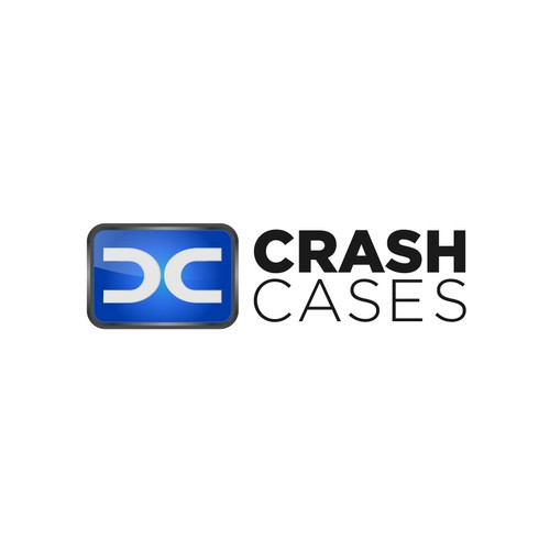 Crash Cases Logo Design - new product launch