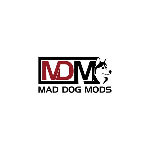 Create a mad dog logo image for our exploding vapor mod company.
