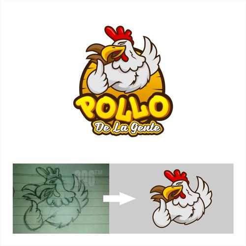 pollo de lagente