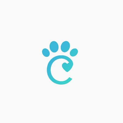 c paw logo