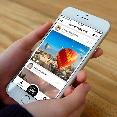 What My Phone Sees - iOS App