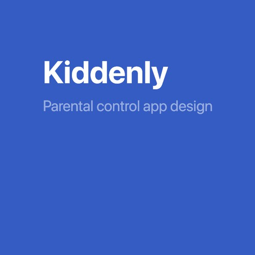 Design of parental control app