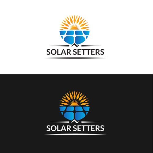 SOLAR SETTERS LOGO DESIGN