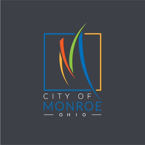 Logo Design Concept for City of Monroe, Ohio.
