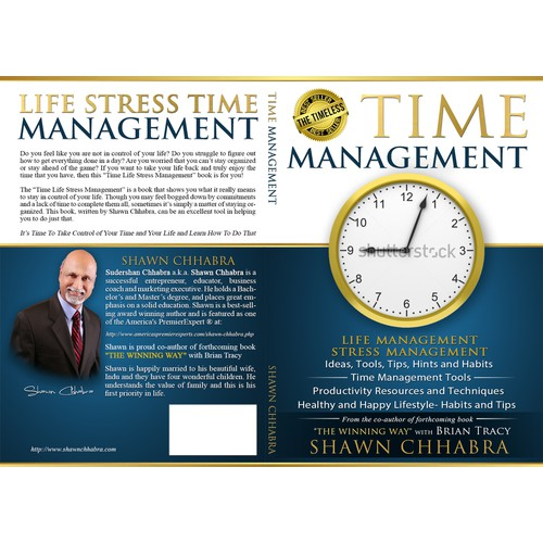 Time Management Life Management Kindle Book Cover Design