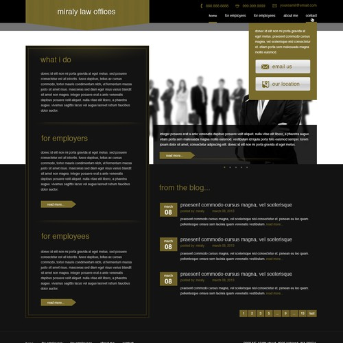 Help Miraly Law Offices with a new website design