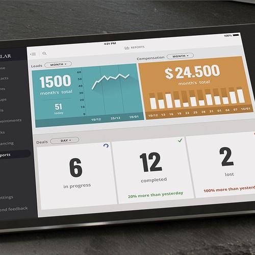 Design an iPad App UI