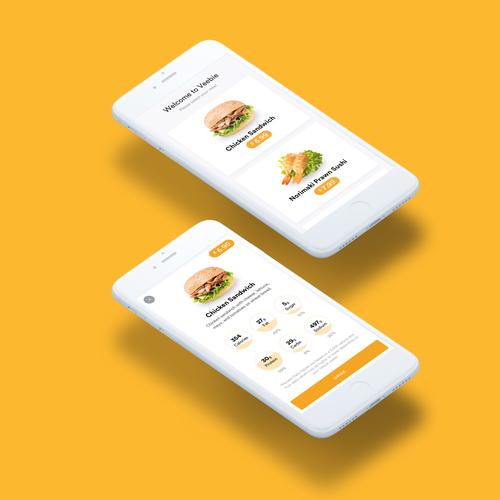 iOS App for Ordering Foods