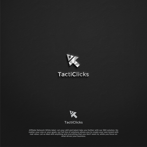 modern logo for tacticlicks