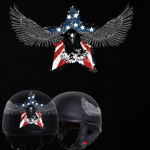 American Eagle Helmet design