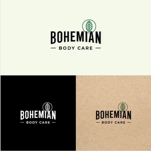 Logo for environmentally conscious beard products
