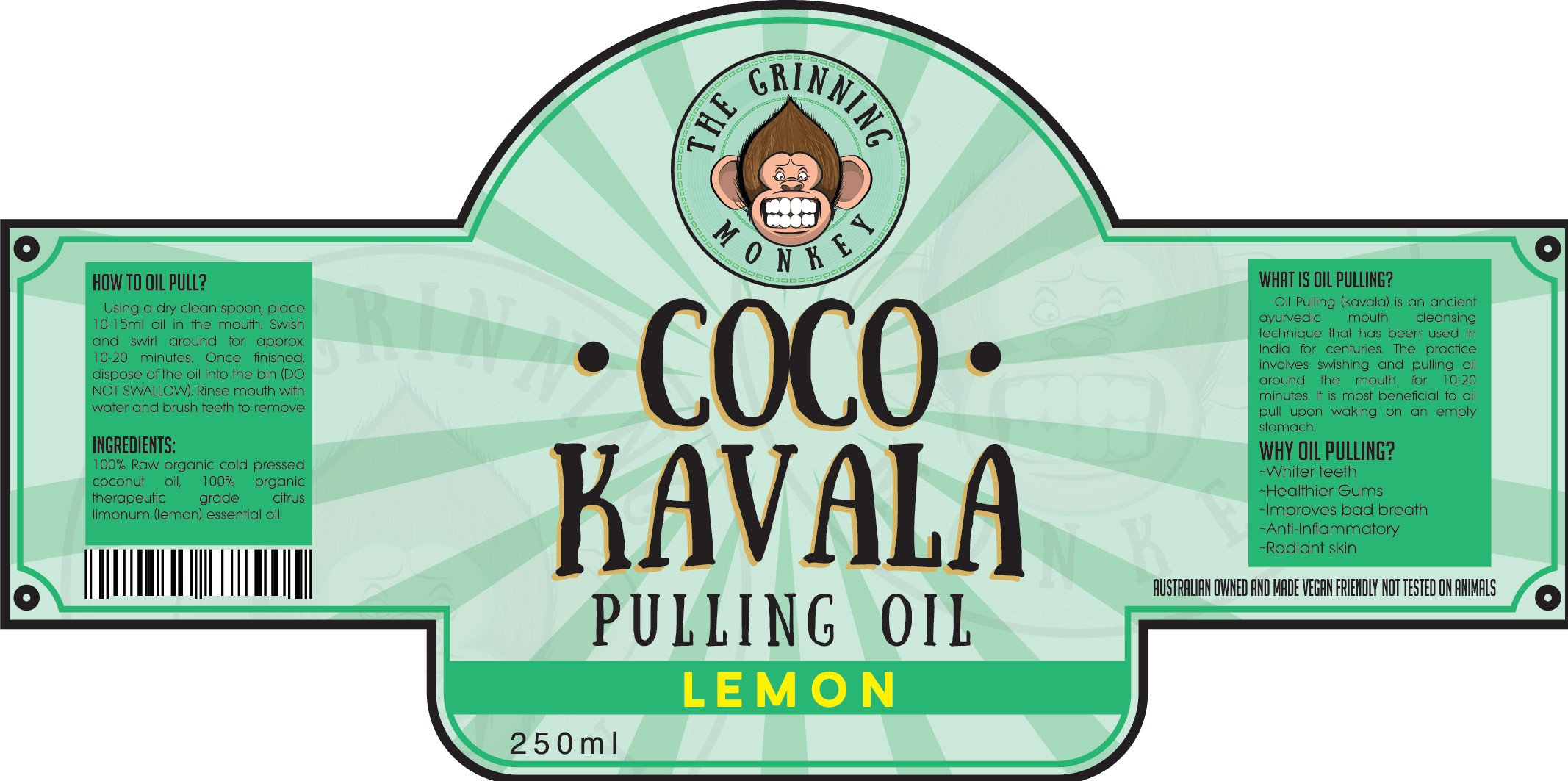 WOW us with your UNIQUE STANDOUT product label for Coco Kavala Pulling Oil!!
