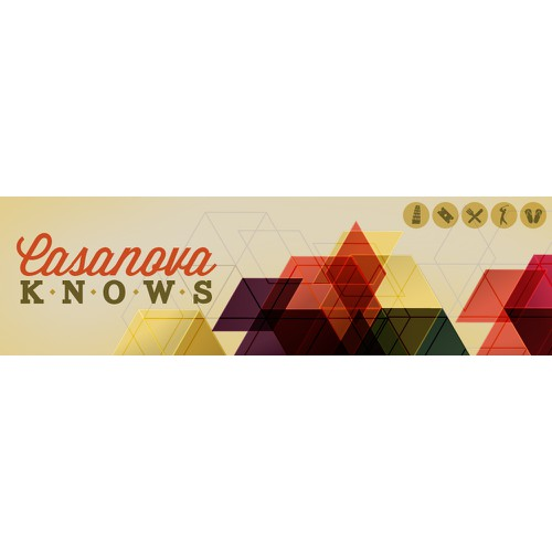 Create the next banner ad for Casanova Knows
