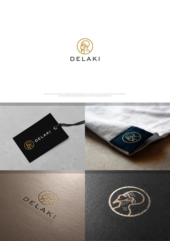 Delaki's brand identity