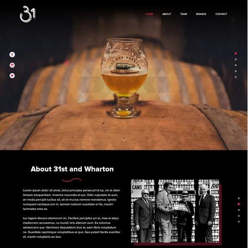 Website design for 31st and Wharton