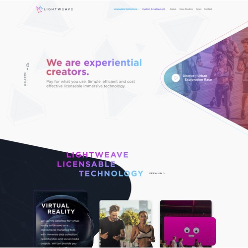 Lightweave - Website