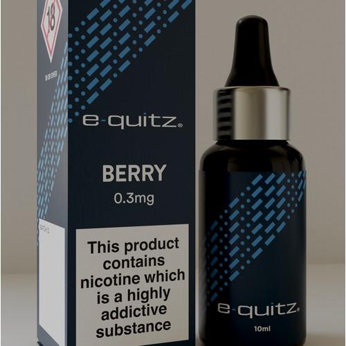 A packaging design concept for premium CBD oil brand.