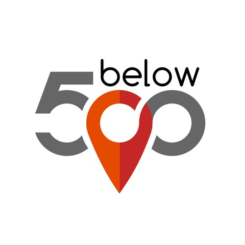 Logo concept for 500 below