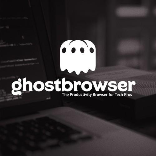 Modern eerie logo for Internet browser