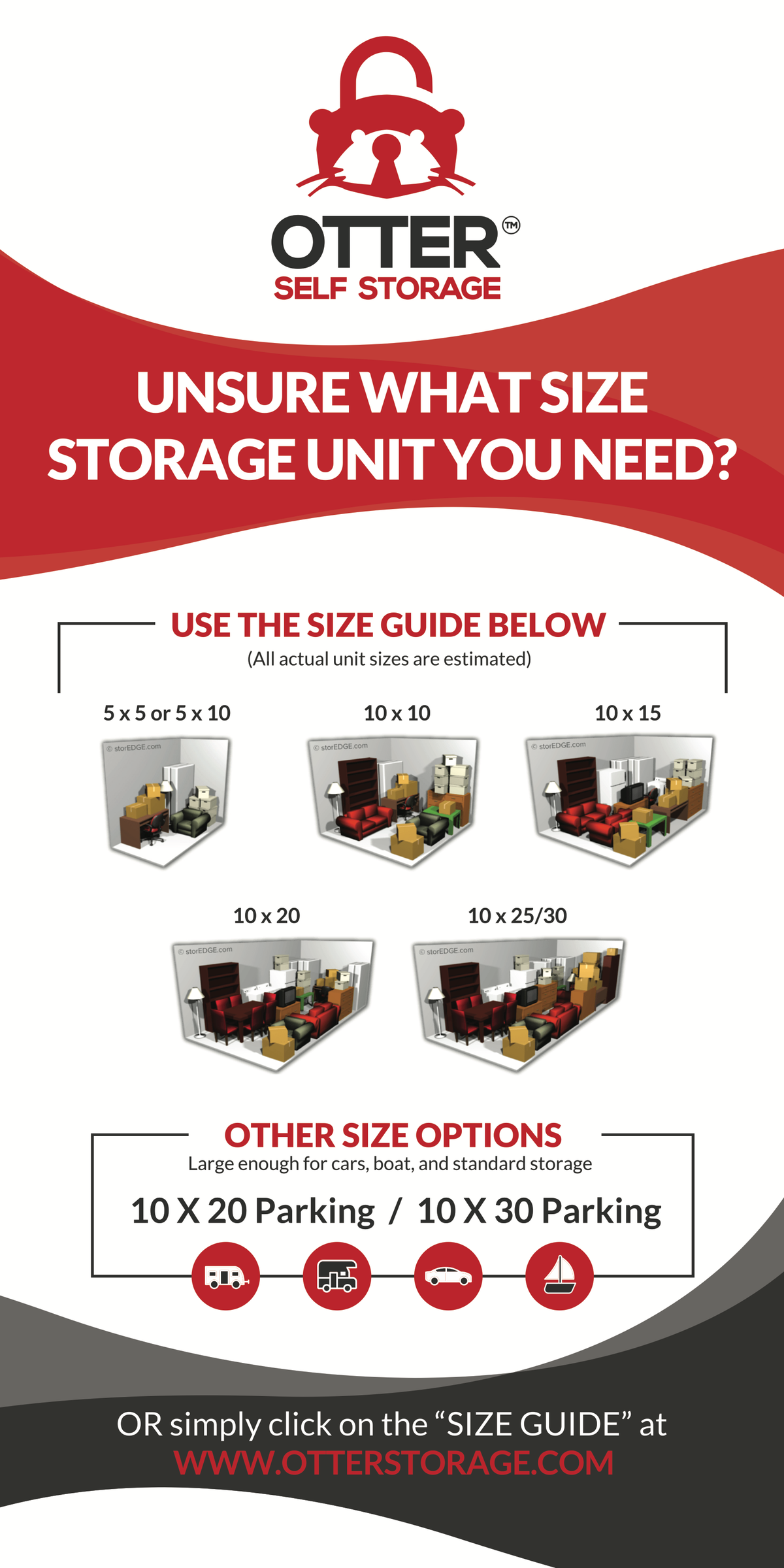 Otter Self Storage - Rental Center Re-Design