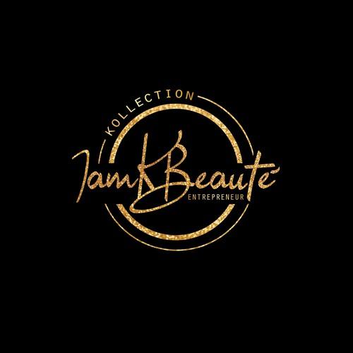 beauty logo for IamKbeaute
