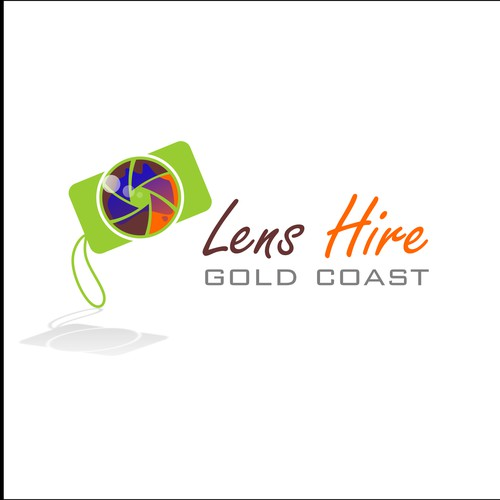 Logo concept for Lens Hire