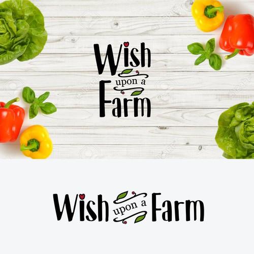 Wish upon a farm logo