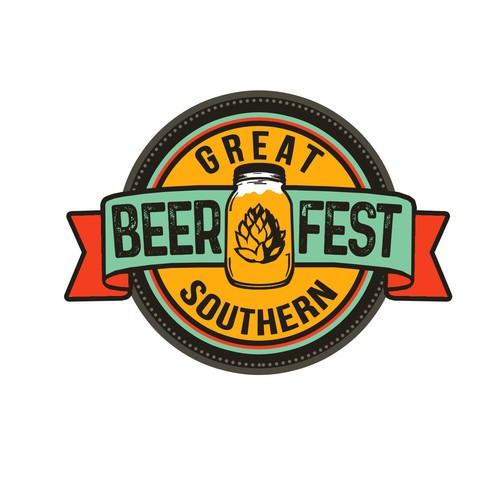Beer fest logo design