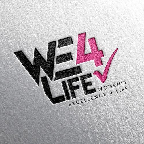 Logo Concept - We 4 Life