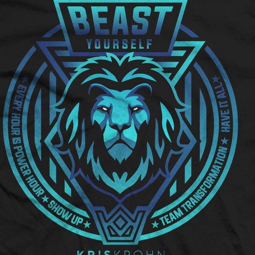 Lion Shirt Design