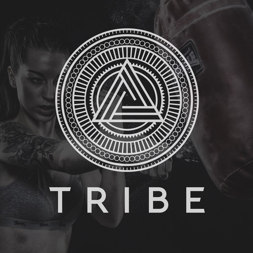 Abstract Tribal logo for tribe boxing