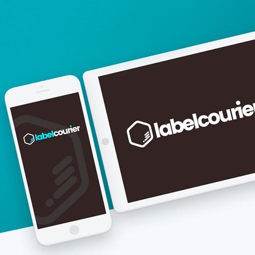 Logotipo labelcourier