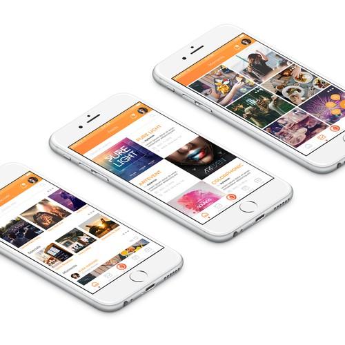 Peppy Pub app design