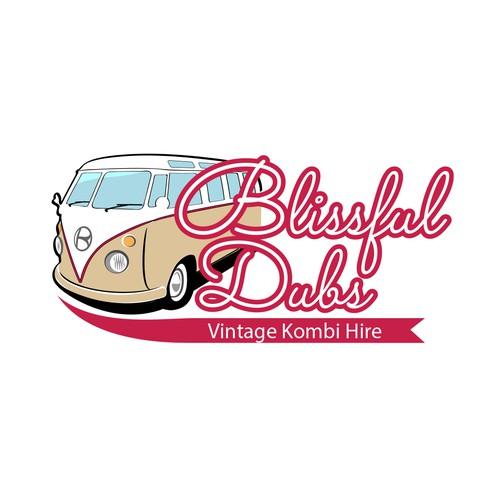 Logo for Blissful Dubs Kombi Hire!